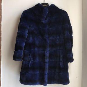 Bloomingdale's Real fur coat